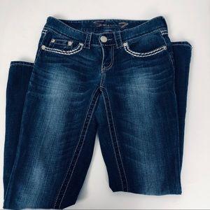Seven7 Dark Wash Baby Boot Jeans